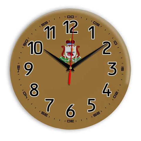 Интерьерные часы герб Смоленск 11