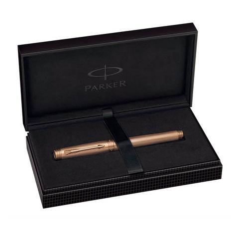 Parker Premier - Monochrome Pink Gold PVD, перьевая ручка, F