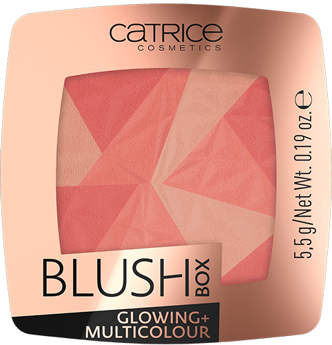 Catrice Blush Box Glowing+Multicolour румяна 5,5г