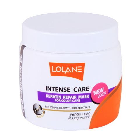 Маска кератиновая для восстановления Lolane, Lolane Intense Care Keratin Repair Mask, 200 мл.