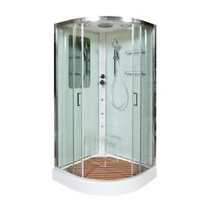 Душевая кабина DETO А01 с гидромассажем 100х100 см