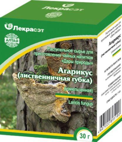 Агарикус (лиственничная губка) измельченный