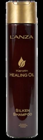 Keratin Healing Oil Shampoo Восстанавливающий шампунь с кератиновым эликсиром 300 мл