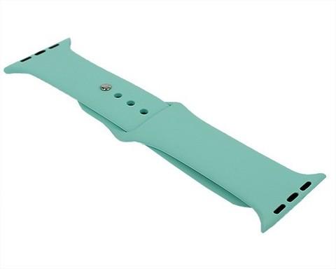 Ремешок для Apple Watch 42mm/44mm силиконовый | морской зеленый