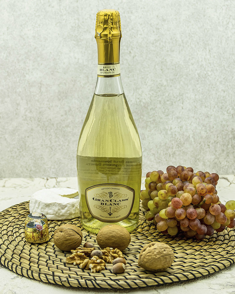 Вино Игристое Pirovano Гран Класс Спуманте Белое Брют 11% 0,75 л