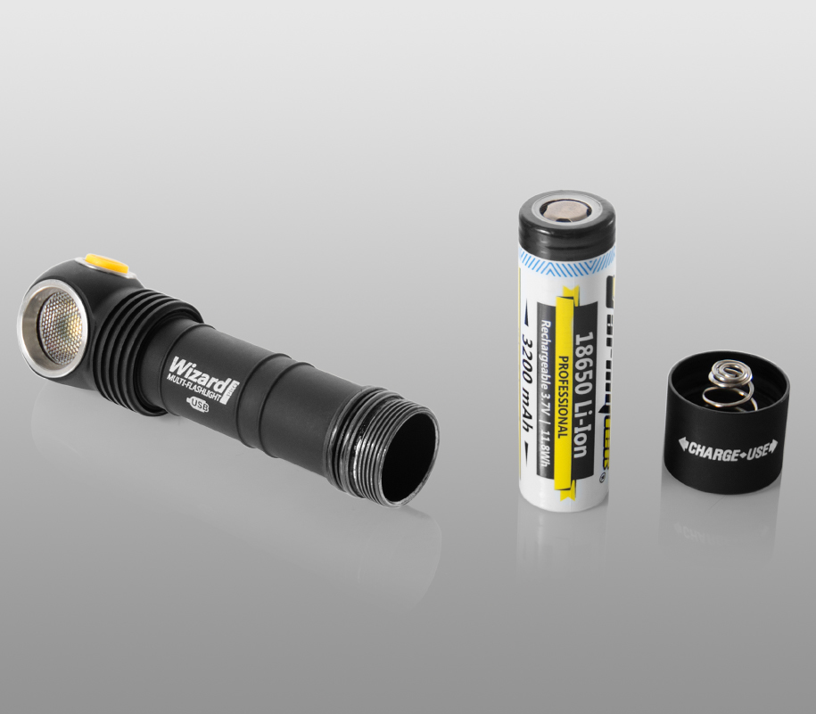 Мультифонарь Armytek Wizard Pro Magnet USB (тёплый свет) - фото 6