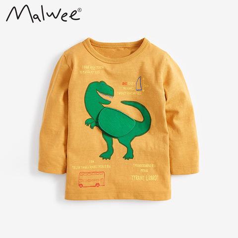 Лонгслив для мальчика Malwee Карнозавр