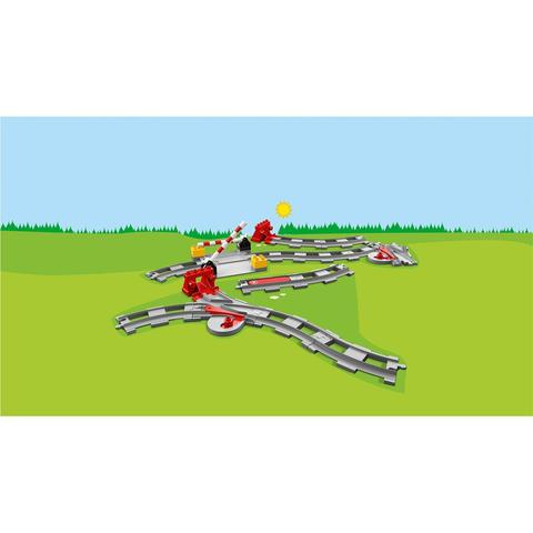 LEGO Duplo: Рельсы 10882 — Train Tracks — Лего Дупло