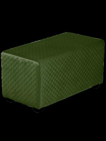 Пуфик Даймонд 72-36 (темно зеленый)
