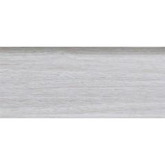 Плинтус ПВХ Ideal Комфорт К55 252 Ясень Белый 2500х55х22 мм