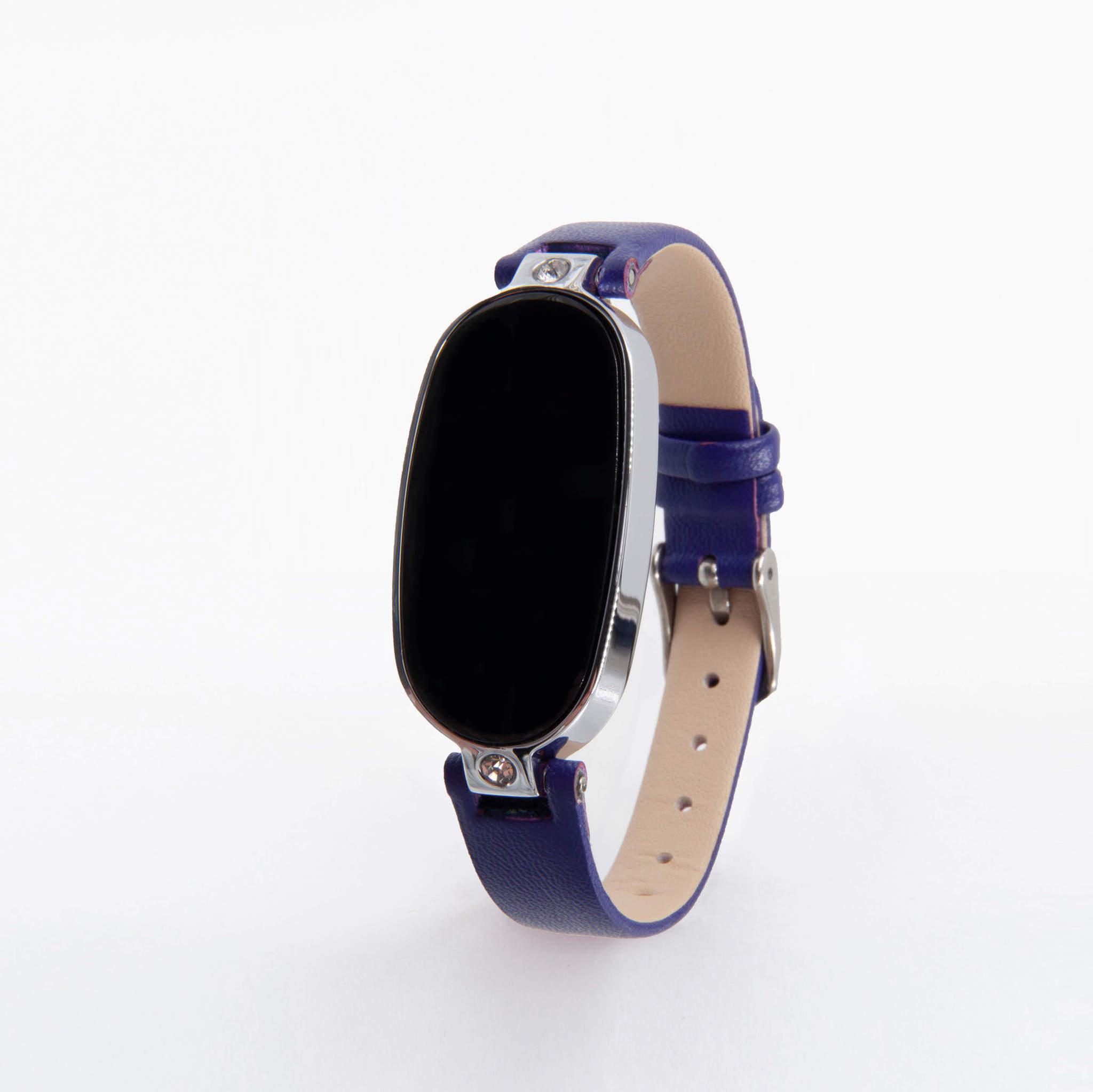 Женские часы с измерением давления, снятием ЭКГ и круглосуточным мониторингом пульса Health Band WM17, (синий)