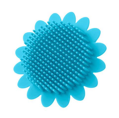 Губка для тела силиконовая (подсолнух).
