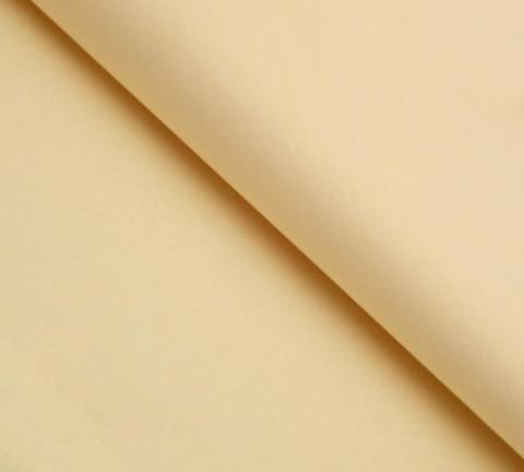 Бумага упаковочная тишью, бежевый, 50*66 см