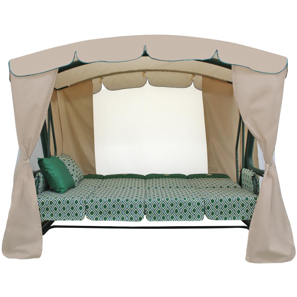 Монарх зеленый кровать