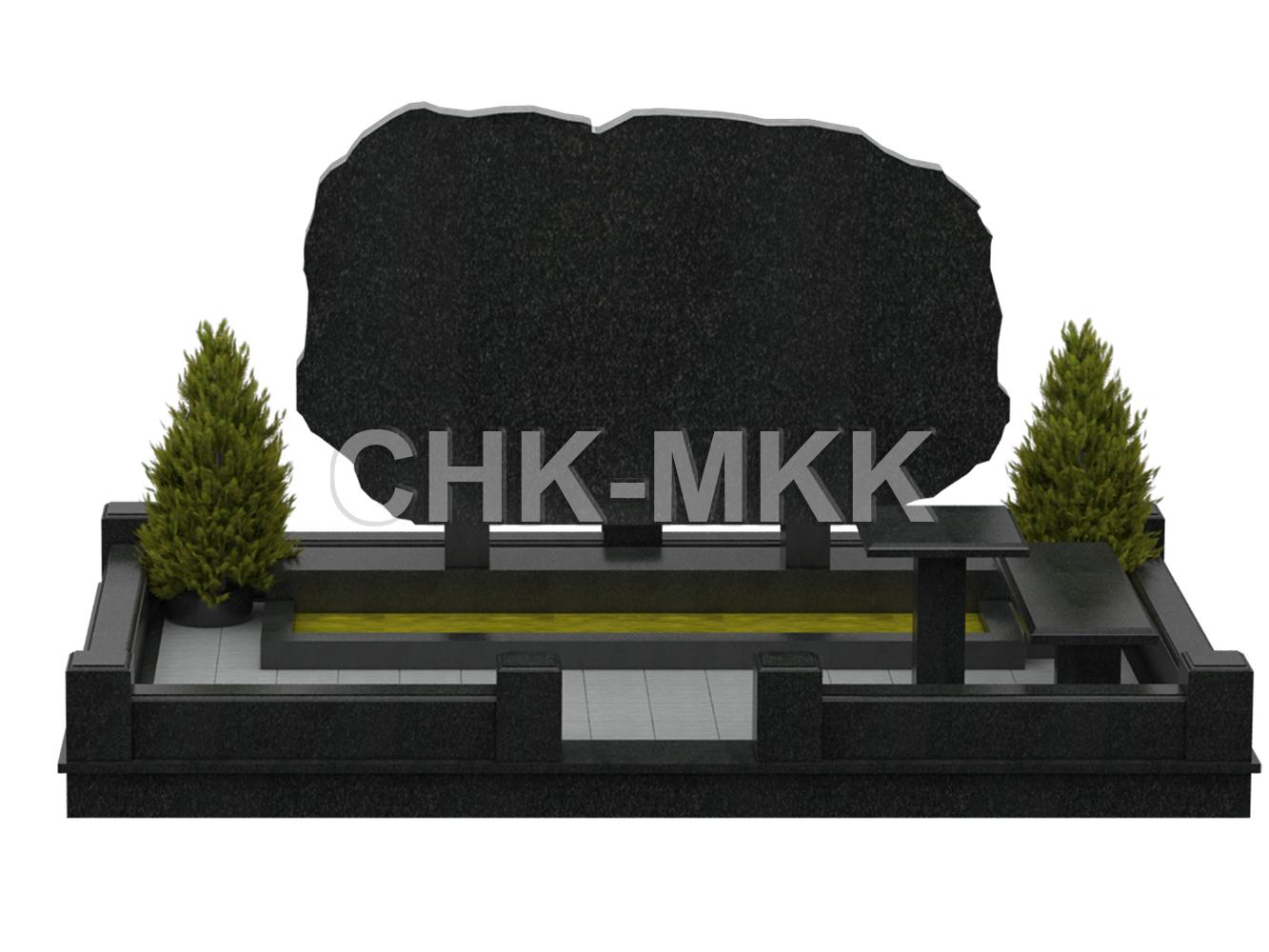 Гранитный мемориальный комплекс №31