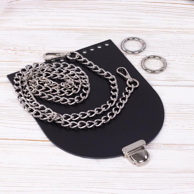 """Каталог Комплект для сумочки Орео """"Черный"""" с цепочкой IMG_7264.jpg"""