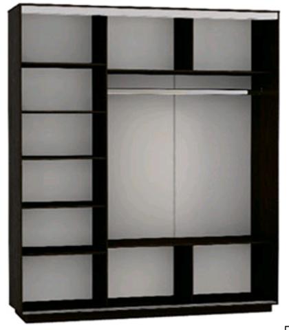 шкаф - купе Экспресс 3х дверный