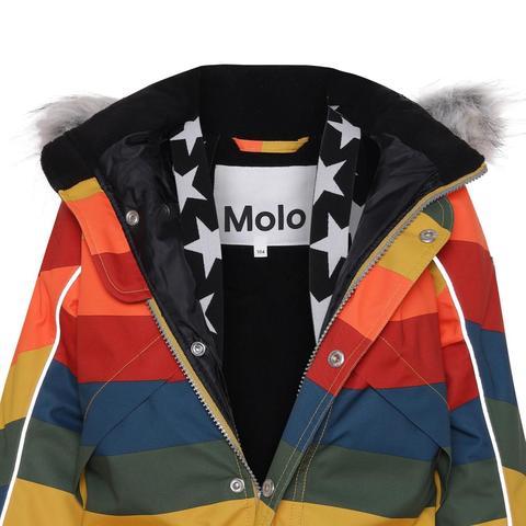 Molo (Моло) Polaris Fur Rainbow зимний комбинезон