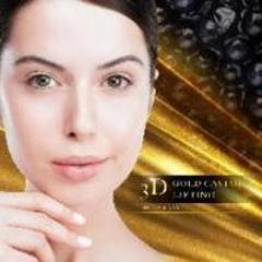 3D Gold Caviar Lifting - роскошный экспресс уход для лица (пептиды икры). Beaubelle.