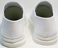 Модные женские кеды туфли летние ZiKo KPP2 Wite.