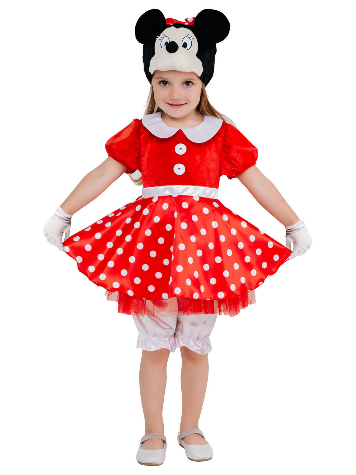 Костюм карнавальный детский Минни Маус