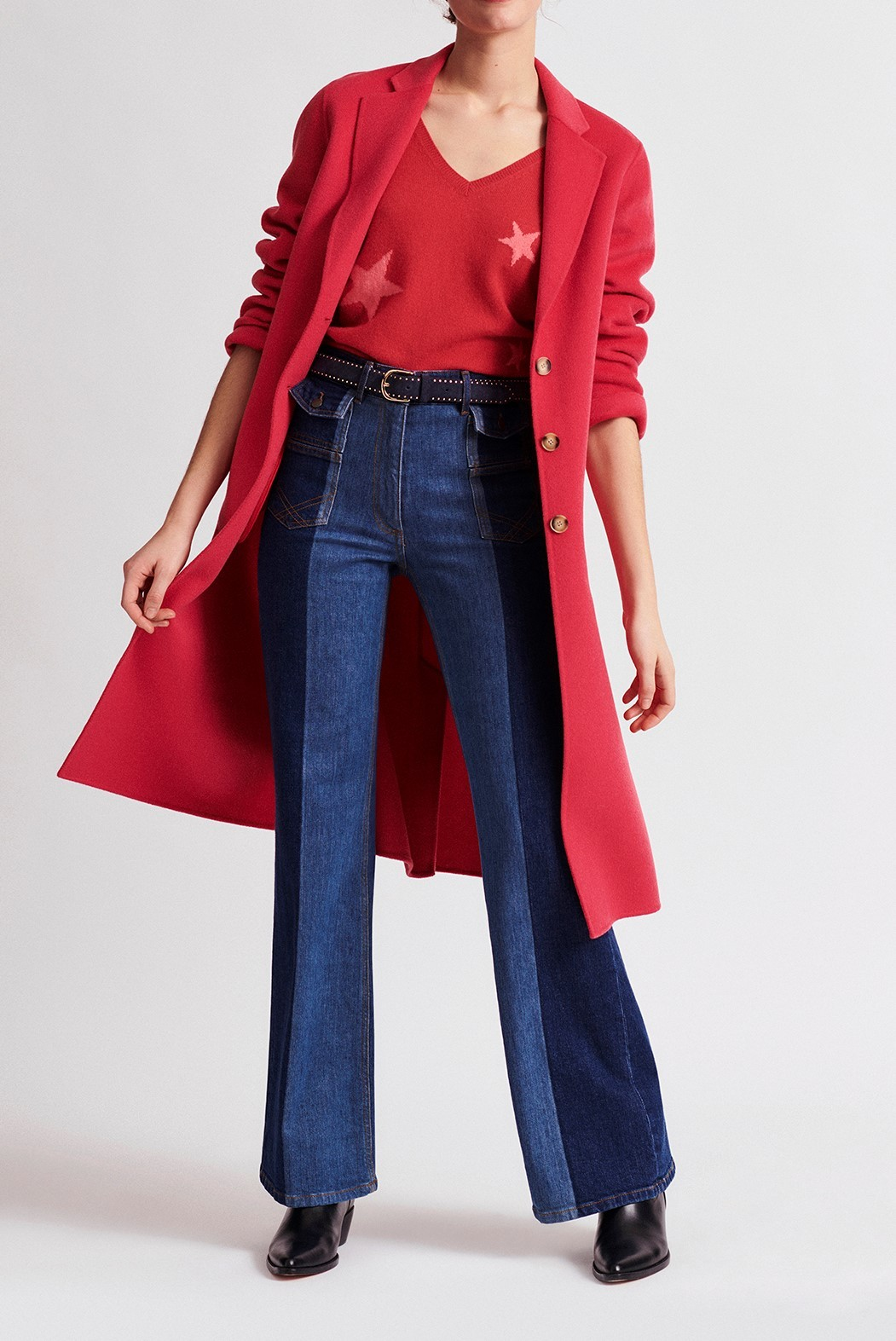 ROSY  - Двойное шерстяное пальто