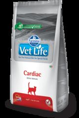 Ветеринарный корм для кошек, FARMINA Vet Life CARDIAC, при сердечной недостаточности