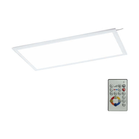 Панель светодиодная ультратонкая потолочная c пультом ДУ Eglo SALOBRENA-RGBW 33108