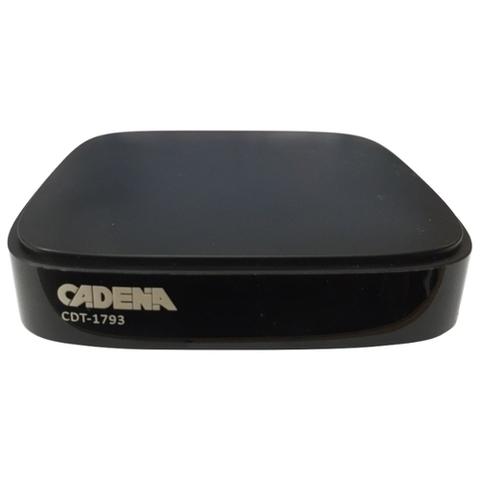 Цифровая приставка Cadena CDT-1793 эфирный ресивер DVB-T2