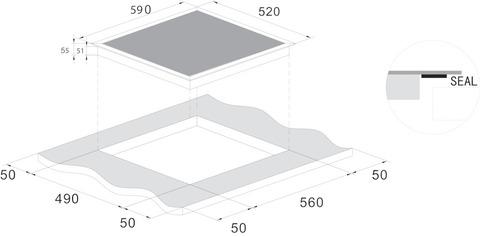Варочная панель CANDY CI642CTT