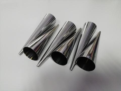 Конусы для выпечки рожков и трубочек 6 шт, l=12 см d=2.8см