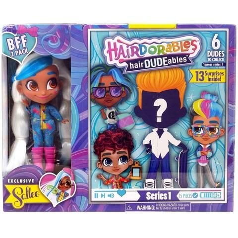 Кукла-сюрприз HairDUDEables 1 серия Мальчик и Салли