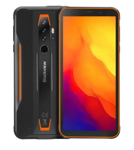 Смартфон Blackview BV6300 Pro 6/128GB черный/оранжевый