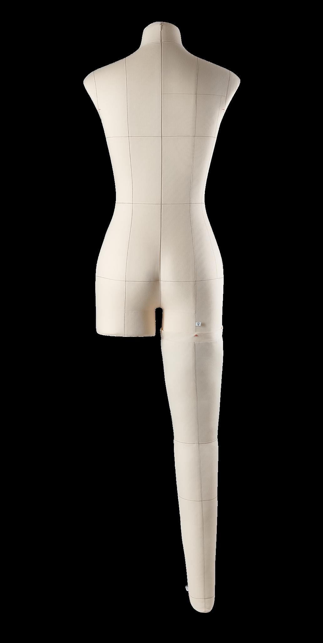 Нога бежевая для манекена Моника, размер 40Фото 1
