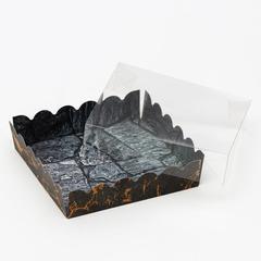 Коробочка для печенья с PVC крышкой,