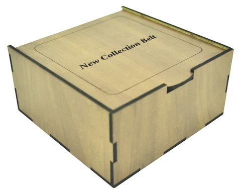 Коробка подарочная для ремня 13х13х6,5 см арт.7039