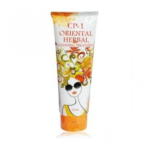 Esthetic House CP-1 Oriental Herbal Cleansing Treatment парфюмированная маска для волос Восточные травы