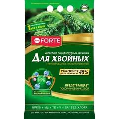 Bona Forte удобрение пролонгированное с биодоступным кремнием Хвойное весна. 2,5кг