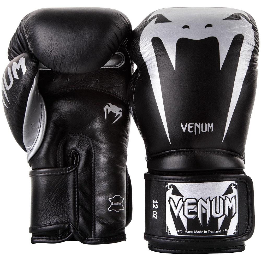 Перчатки Перчатки для бокса Venum Giant 3.0 Boxing Gloves Black/Silver 1.jpg