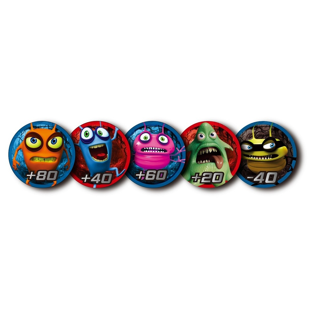 Жетоны CATCHUP TOYS Spider Spin. Collective Tokens (Red)