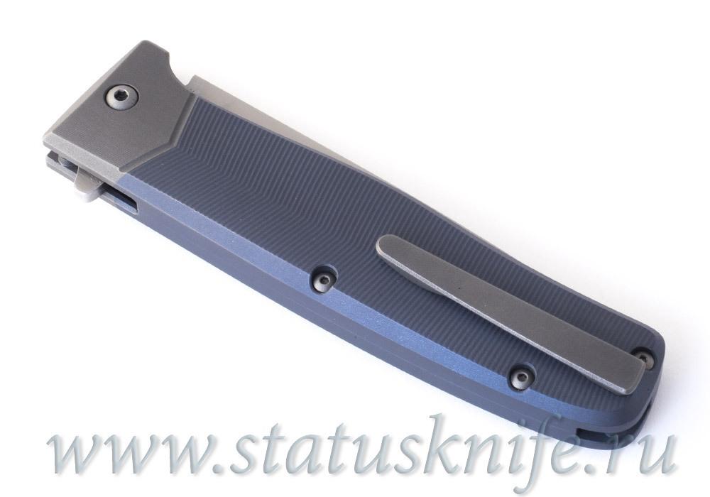 Нож Trabant mini-TF Blue, мастер Кукин Алексей - фотография
