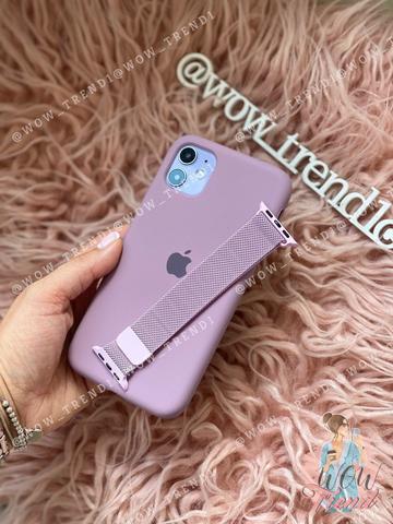 Чехол iPhone 6S Silicone Case Full /blueberry/