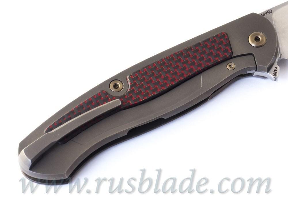 Cheburkov Scout M390 RED CF - фотография