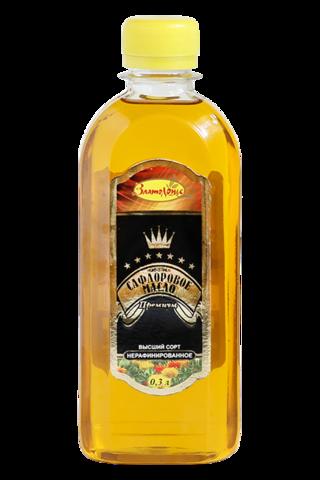 Масло Сафлоровое, 0,3л. (Капитал)
