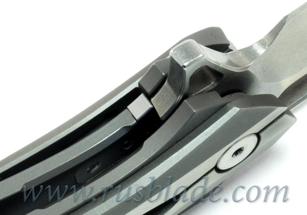 CKF Decepticon-1 Knife (Alexey Konygin design, s35vn, bearings, titanium) - фотография