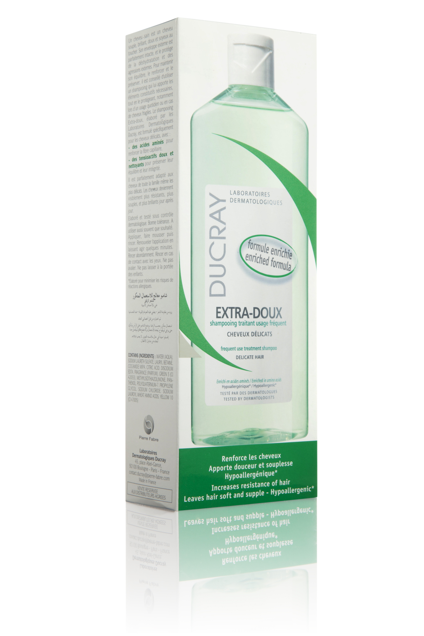 Ducray Extra-Doux шампунь защитный для частого применения 300 мл.