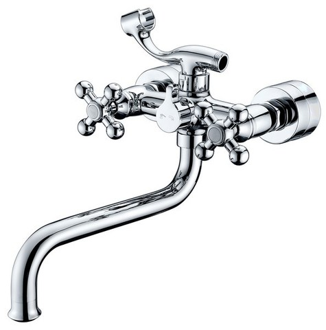 Смеситель KAISER Carlson Lux 11255 для ванны