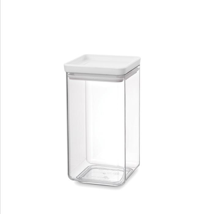 Прямоугольный контейнер (1,6 л), Светло-серый, арт. 122484 - фото 1