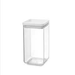 Прямоугольный контейнер (1,6 л), Светло-серый
