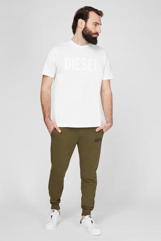 Мужские зеленые спортивные брюки P-TARY-LOGO Diesel